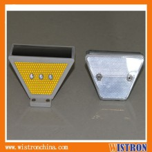 led traffic solar guardrail delineator