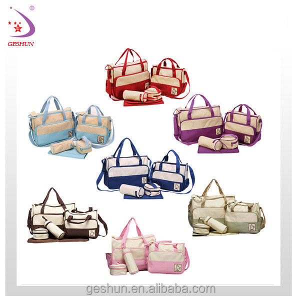 Newest Diaper Bags in 5pcs set