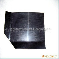 water resistant cargo high density black HDPE plastic slip pallet sheet