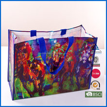 Eco-friendly shopping bags customized non woven bag with zipper