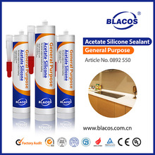 High Quality Fast Curing Waterproof Silicone Based Clear Adhesive Sealant
