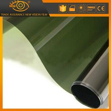 Korea PET material hot sale green 1 ply original dyed window tinting film