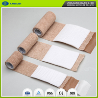 KLIDI Hot Sell Travel Used Emergency Sterile Non Woven Fabric First Aid Bandage With Pad