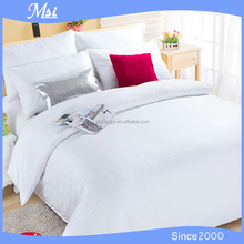 Factory wholesale 100% cotton satin drill hotel bedding set