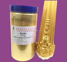 Used in decorating paint and coating metallic gold powder