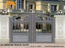 High security Beautiful modern designs house gates AJLY-601
