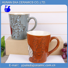 Factory price 320ml coffee ceramic mugs bulk