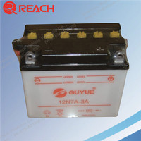 Factory Direct Sale High Quality 12N7A 3A Motorcycle Battery with Cheap Price