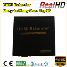 RealHD 16x16 HDMI Matrix Extender 120m over IP+Rs232+IR remote control