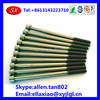 customized Chinese zinc /nickel plated /galvanized Bolt and Nut , titanium/ chrome plated nut and bolt factory in dongguan