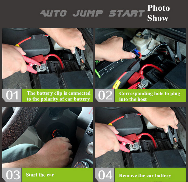 High quality high technology new style car emergency tools kits jump starter