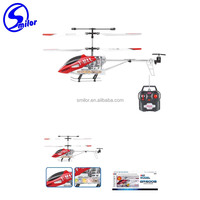 New high quality toys powerful 3.5CH alloy helicopter model remote control toys