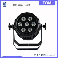 high quality and hot DJ club lighting led par light 8*4W 4in1 RGBW LEDs ip65 led stage light