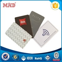 MDHC1135 CR80 size rfid ving lock hotel access card for wholesales