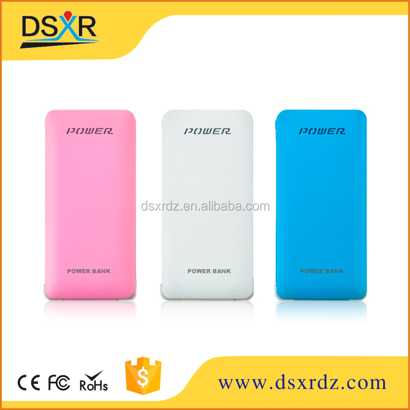 Ultra Thin Mobile Power Bank 4000 mah Polymer High Capacity Backup Battery Charger