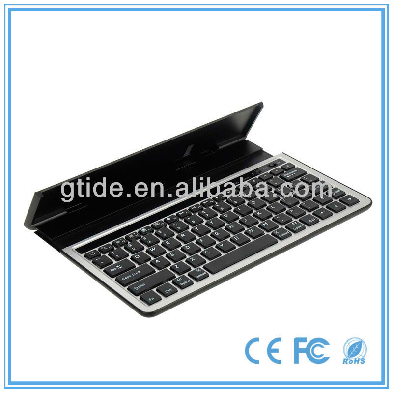 2013 new product Gtide ultra-flat bluetooth keyboard for ipad /iphone