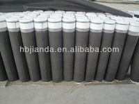 Sloping roofing waterproof breathable membrane with sand