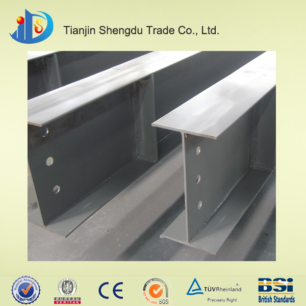 Structural steel beam dimensions, h beam production line