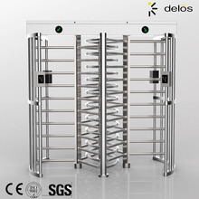 Security full height turnstile gate