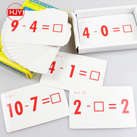 Game Playing Cards/Educational Board Play Number card game For School students