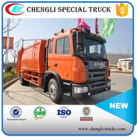 JAC 4x2 12000L Waste Rubbish Refuse Collector Garbage Compactor Truck