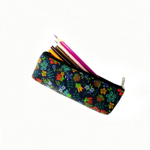 DIY zippered pencil pouch personalized zipper case for kids