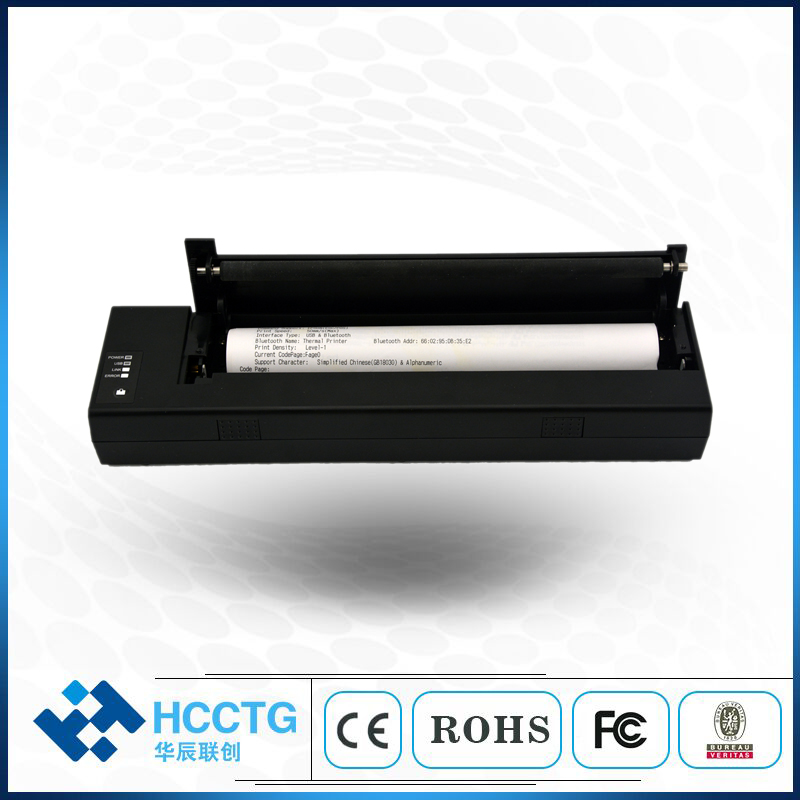 USB WIFI Bluetooth Mobile Thermal Portable A4 Paper Printer HCC-A4P