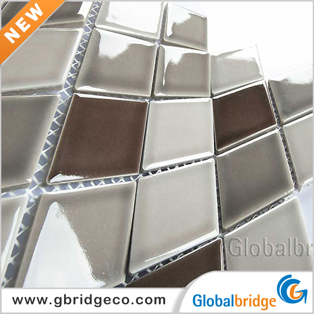 Cheap Price Factory Provide Swimming Pool Tiles Ceramic Mosaics Photos Ceramic Floor M4880RHTG22
