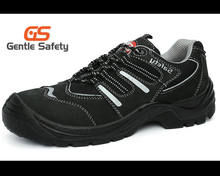 GT0316 Suede upper steel toe engineering working safety shoes