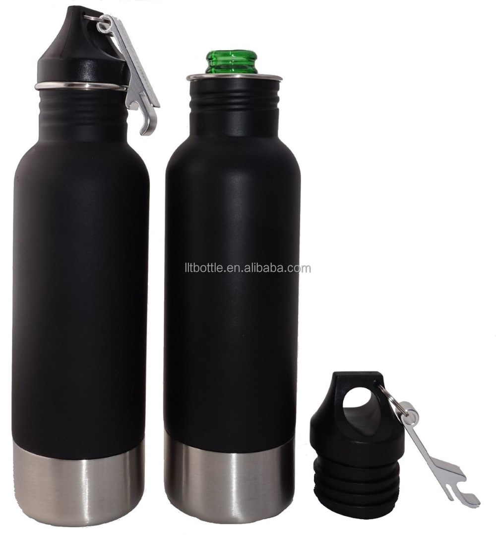 bpa free 18/8 stainless steel beer bottle cover 20oz