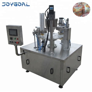 Automatic mango juice bottle filling and sealing machine