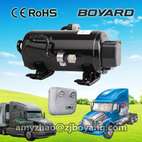 24 vdc air conditioning split dc compressor for truck cabin Car AC Parts automobile airconditioner system