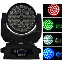Led Zoom Moving Head Light 36 x 10w RGBW 4 in 1 Changeable wash show light
