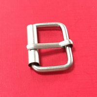cheap 1 inch metal roller pin buckle for bag