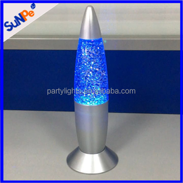 Good quality USB ande battery powered led floor standing recall lava lamp with color changing