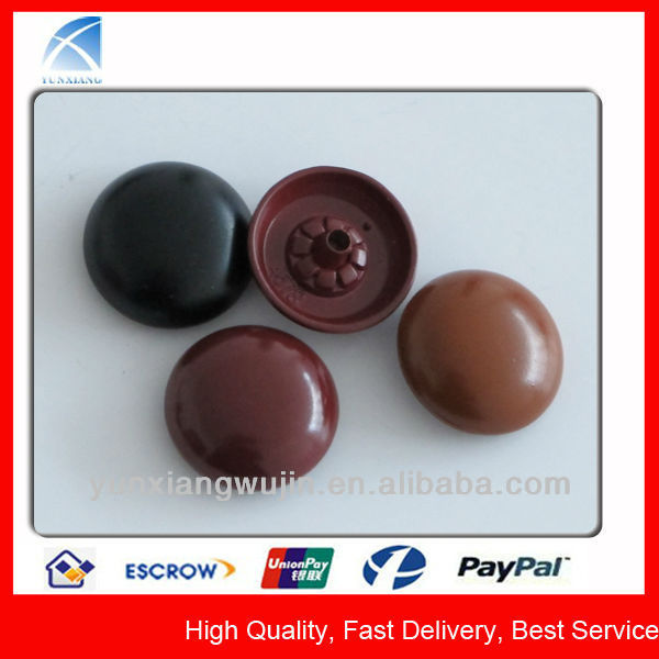 YX4578 Fashion Round Decorative Button Covers for Shirts