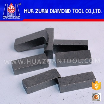 Marble gangsaw segment for cutting marble block