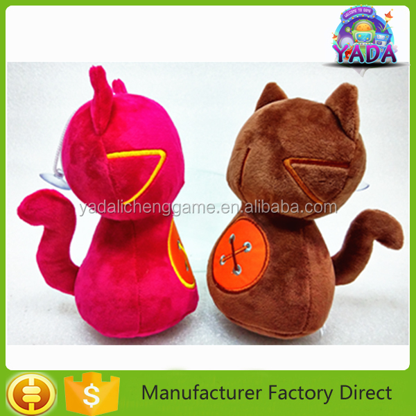 Factory direct sale lovely animal toys stuffed plush cat children toys