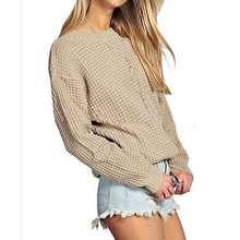 Womens Ladies Oversized Baggy Long sweater Thick Knitted Plain sweater customized color plus size