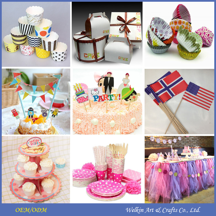 Cheap factory price cake decorations, Pary decorations cake accessory wholesale