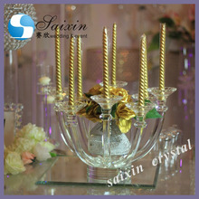 wedding candleholder golden Hall decoration ZT-310