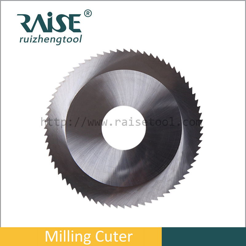 cemented carbide blade for copper and stainless steel cutting