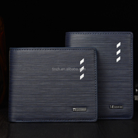 High quality baellerry man wallet pu leather wallet man
