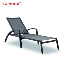 TOPHINE Hotel Outdoor Furniture Stackable Tslin Material Dimensions Beach Sun Lounger