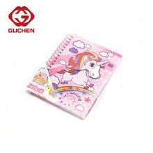 Cute unicorn spiral notebook for girls