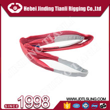Harbour handling chinese manufacturer high quality wire rope sling/pipe lifting belt sling 5ton webbing sling