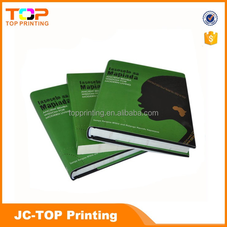 High quality resonable price custom shaped thick hardcover books