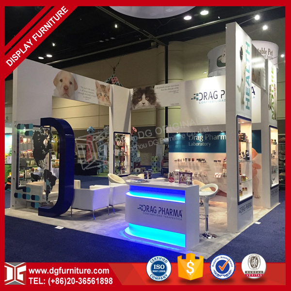 Custom Design Retail Trade Show Exhibition Booth Display