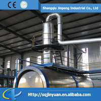 Tyre and Plastic Pyrolysis Oil to Diesel Distillation Plant
