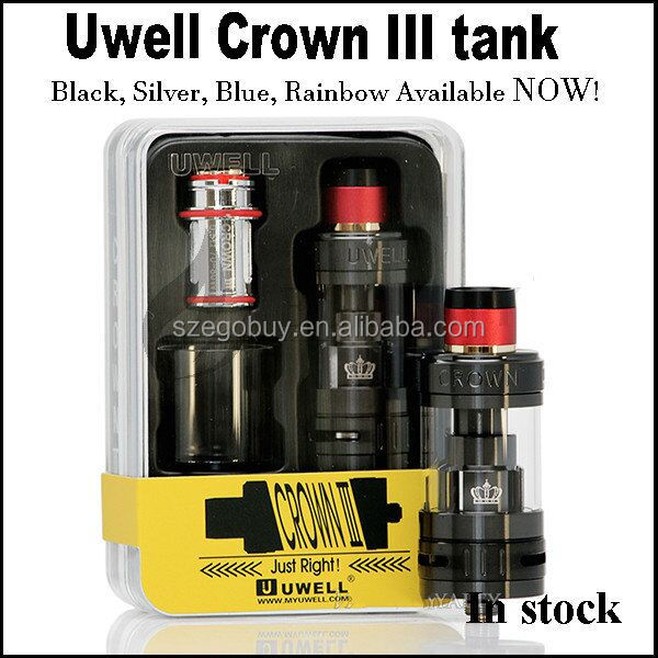 100% Original Uwell Crown 3 tank crown III for rdta mini 100w cuboid tap Q-box g class Gx350 kylin pharaoh ammit billet v4